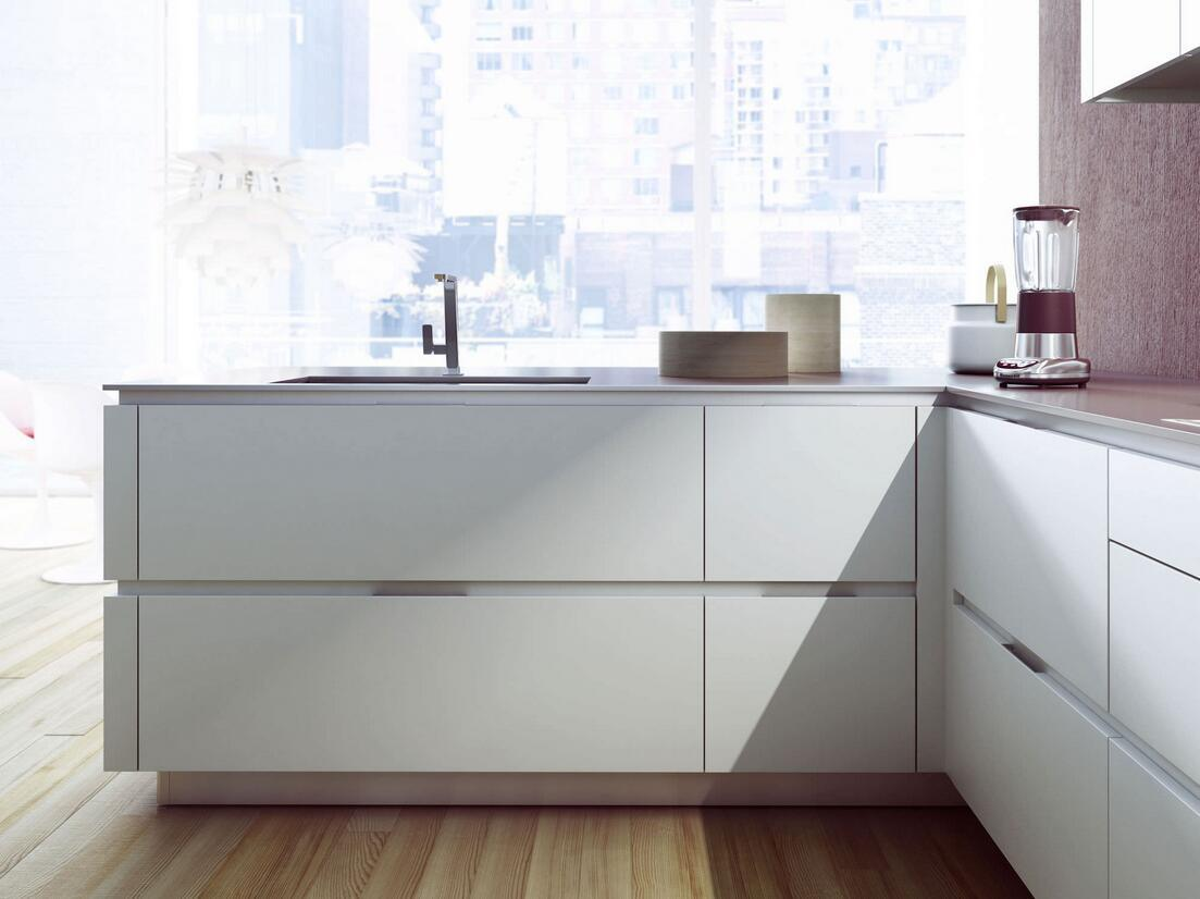 New Design Modern High Gloss Lacquer Wooden Wholesale Kitchen Cabinets