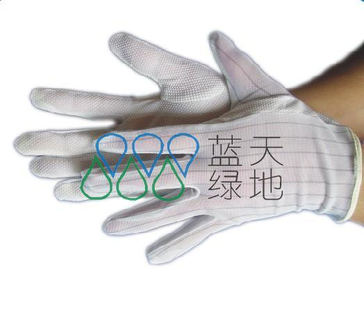ESD PVC Dotted Gloves (LTLD401)