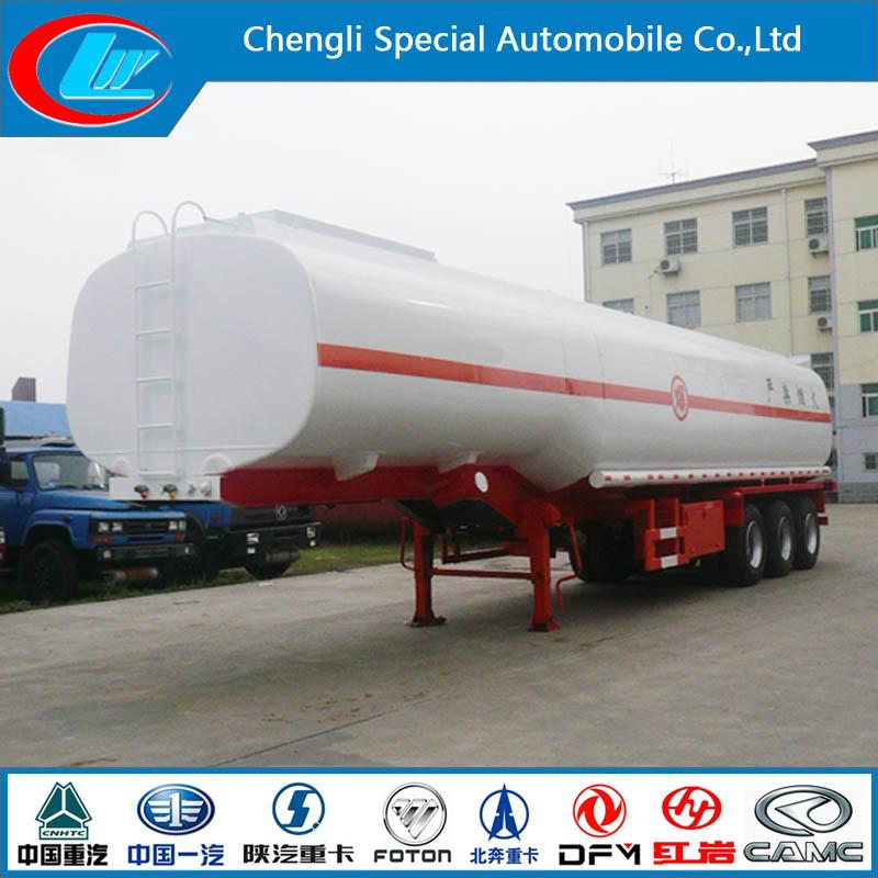 Stainless Steel 30000-80000 Liters Fuel Tank Trailer, Oil Tanker Semi Trailer