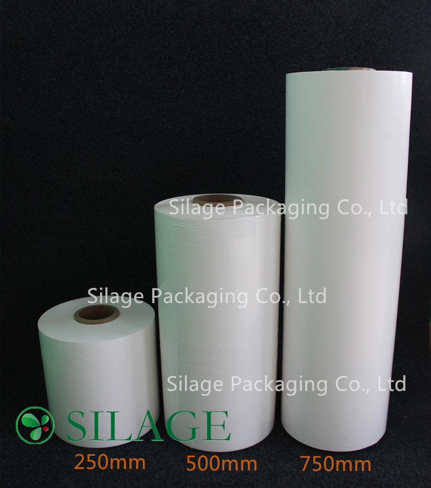 Well Selling in Japan 500mm LLDPE UV Resistance White Silage Wrap Film