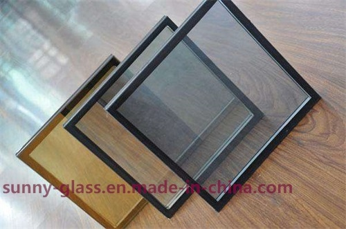 Single Silver Low E Tempered Insulated Glass with Reflective Effect