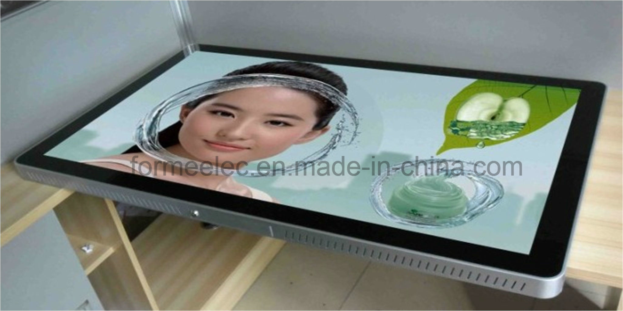 "60"" High Bright 500 Nits LCD TV Ad Player Advertising Display"