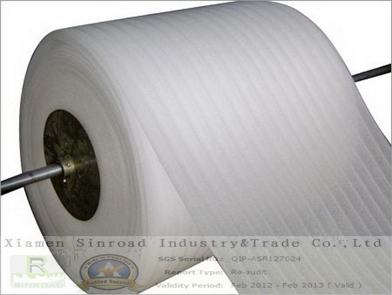 Roll foam insulation