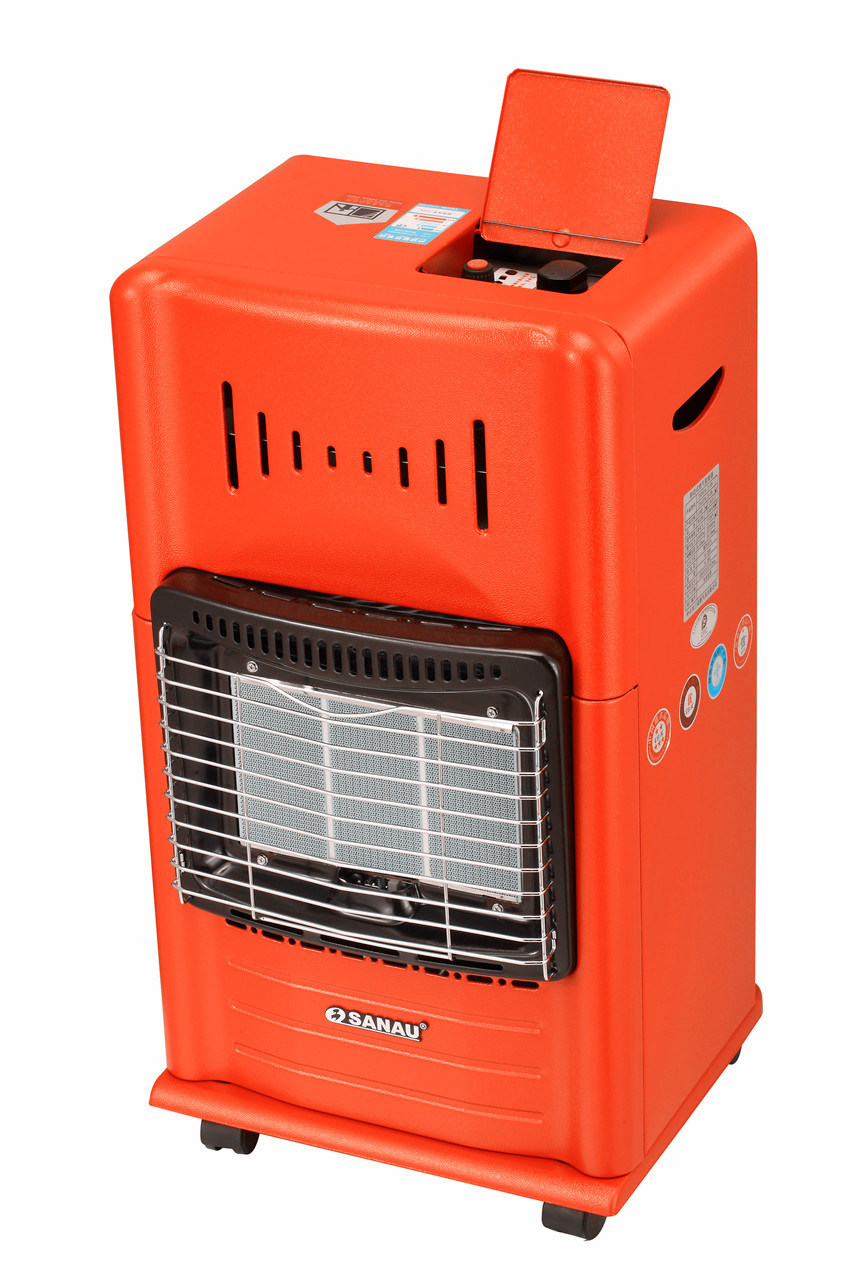 Mobile Gas Heater with 3plate Hight Efficiency Ceramic Burner Sn13-Af