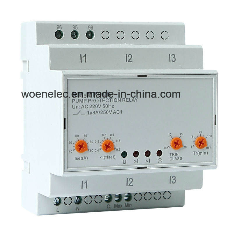Three Phase Pump Protection Relay