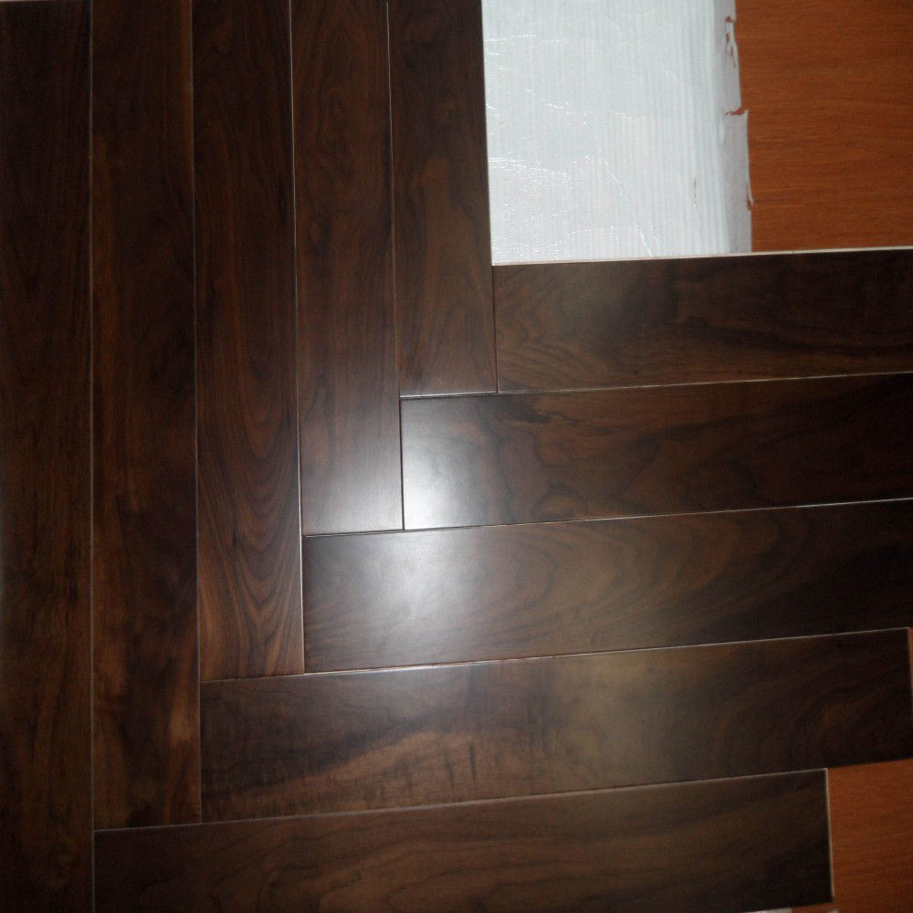 China walnut engineered hardwood flooring walnut hardwood for Walnut wood flooring