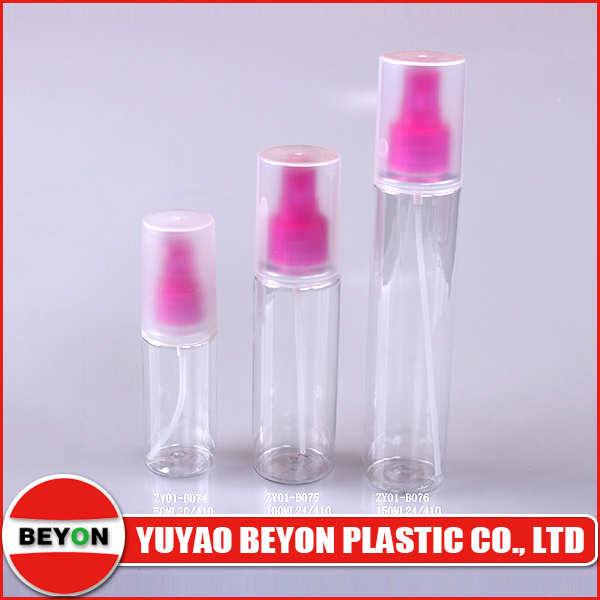 50ml Pet Plastic Bottle with Pump Spray (ZY01-B074)