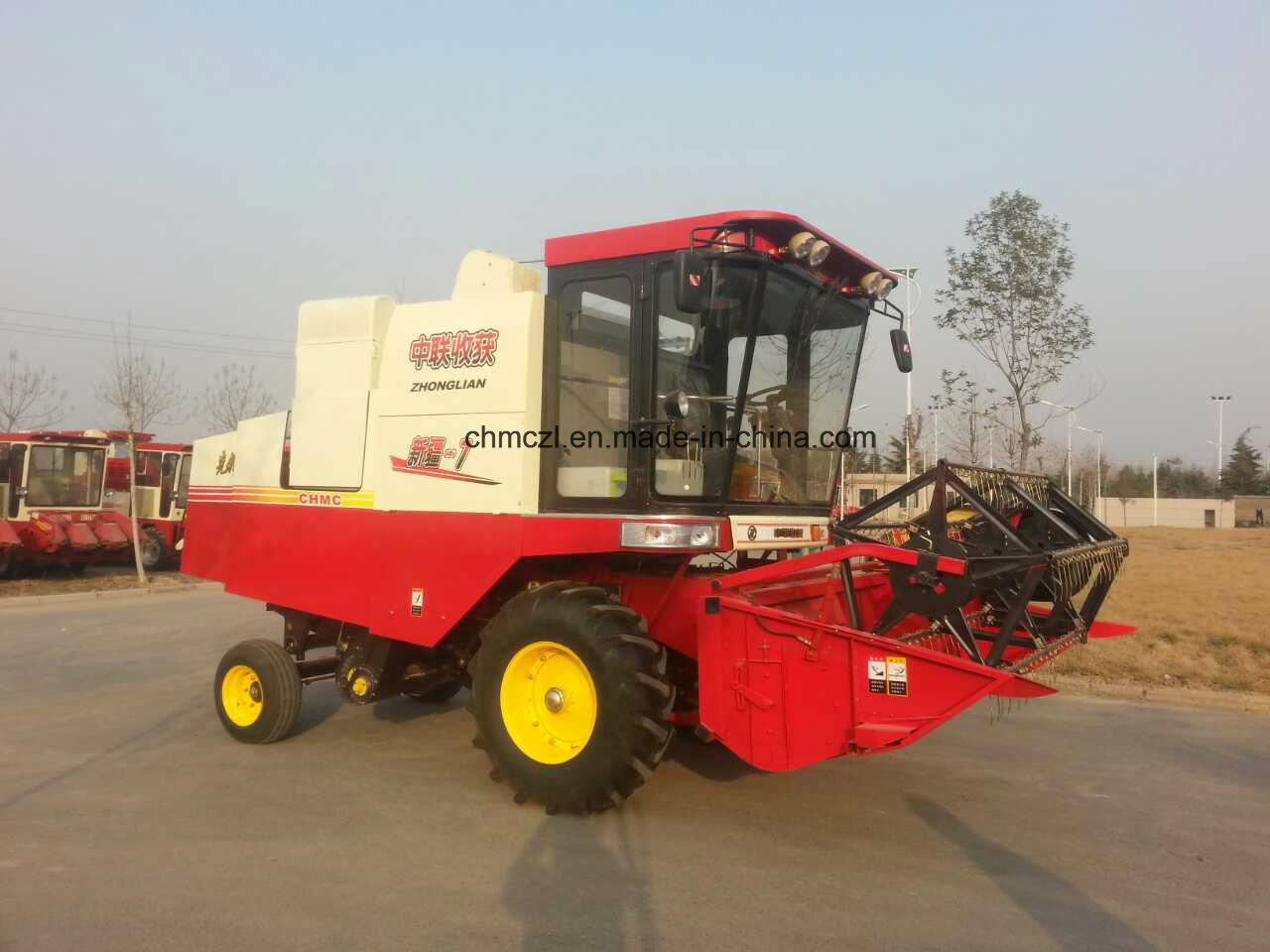 4lz-7 Customized Wheat Combine Harvester