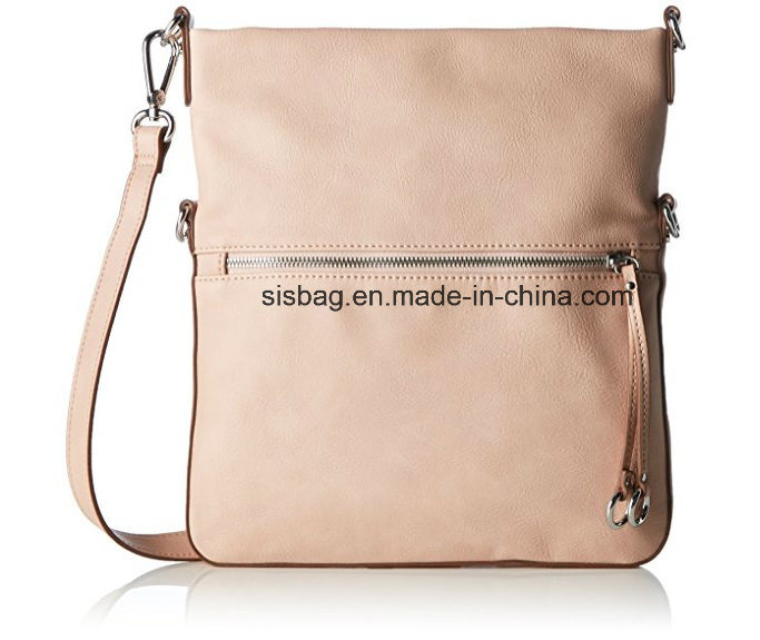 New Fashion PU Cover Folding Crossbody Bag Vegen Leather Handbag
