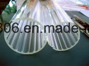 Clear Pyrex Glass Cylinder Lampshade