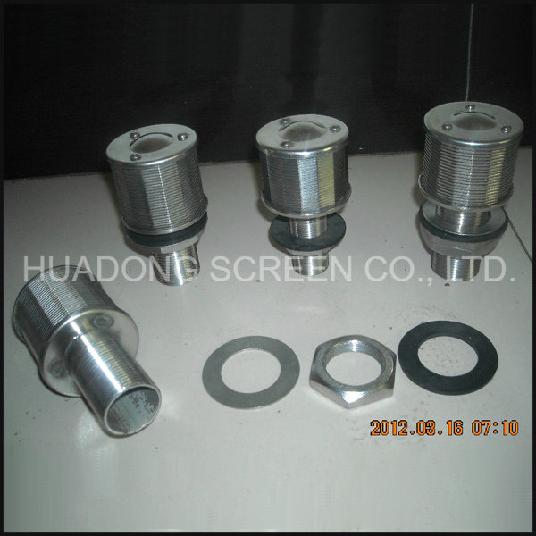 Stainless Steel Filter Nozzle Wedge Wire Water Nozzle