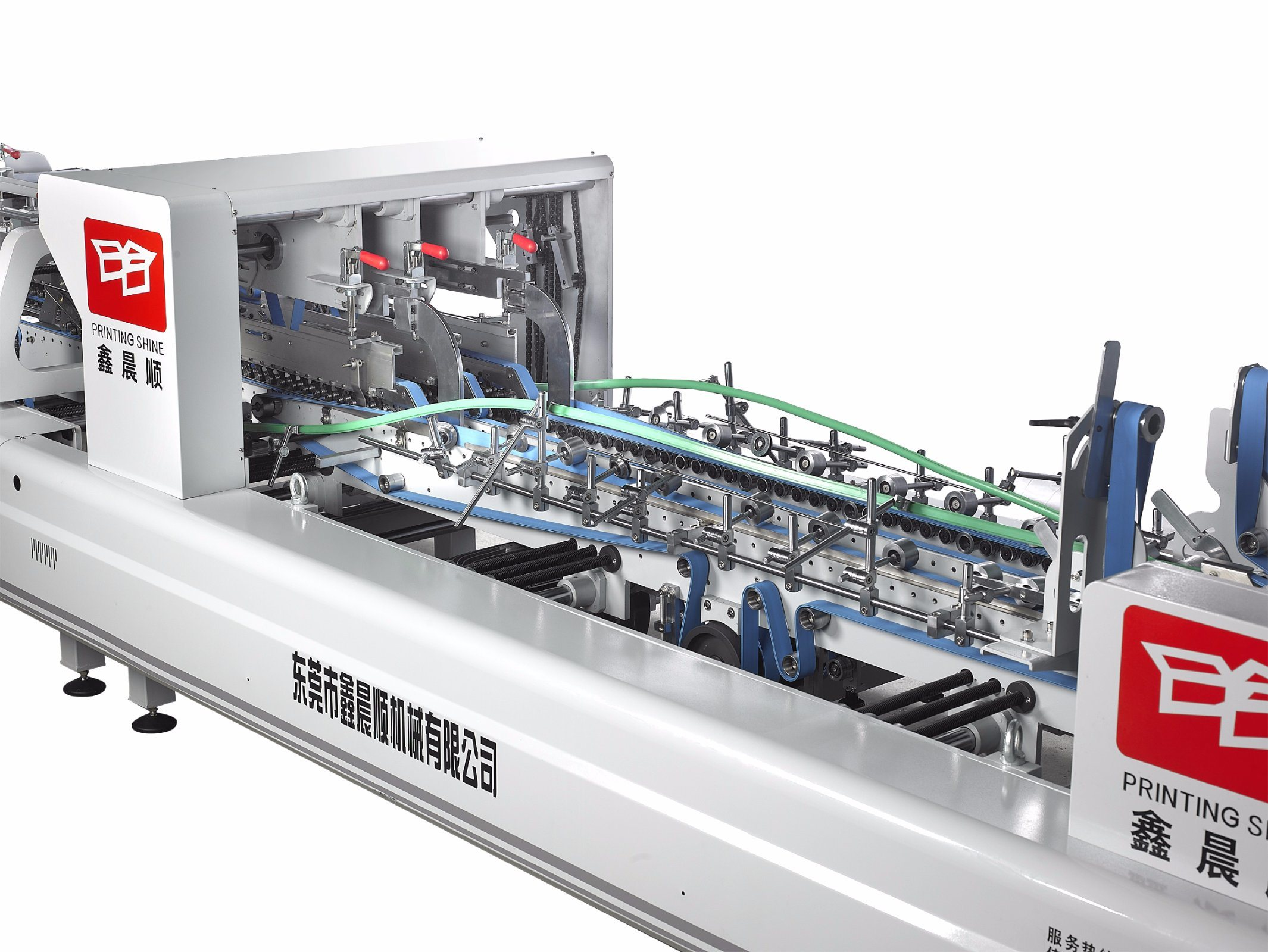 Xcs-800PF Corrugated Carton Paper Folder Gluer Machine