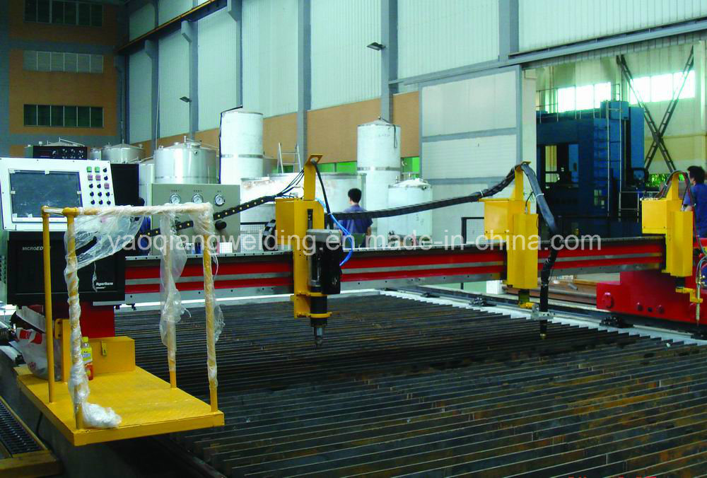 Steel Construction CNC Plasma Cutting Machine Big Cutter