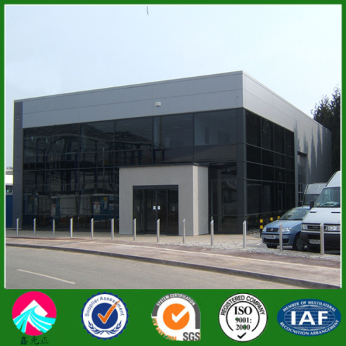Modern Design Steel Structure Buildings for Prefabricated Showroom