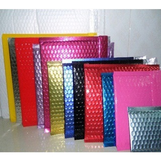 Metallic Aluminum Foil Bubble Shipping Bags