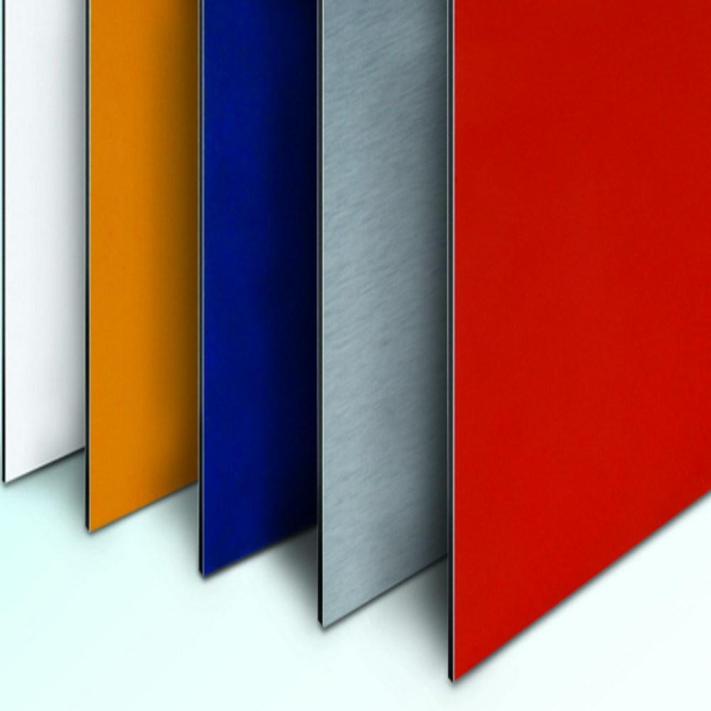 Architectural Wall Facade PE PVDF Aluminum Composite Material (1250mm width)