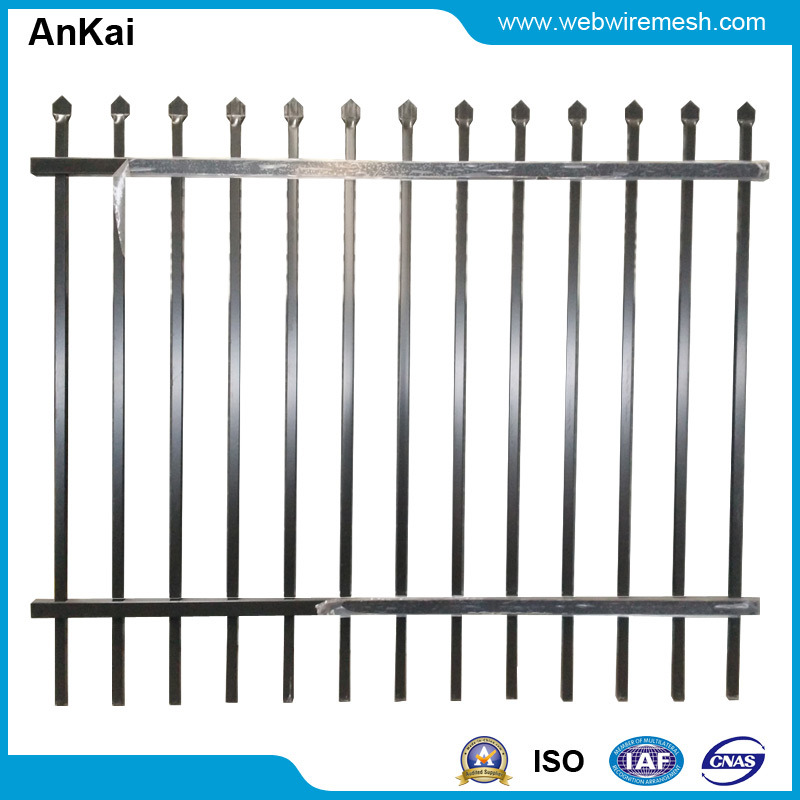 Powder Coated Steel Fencing China (AK-SF01)