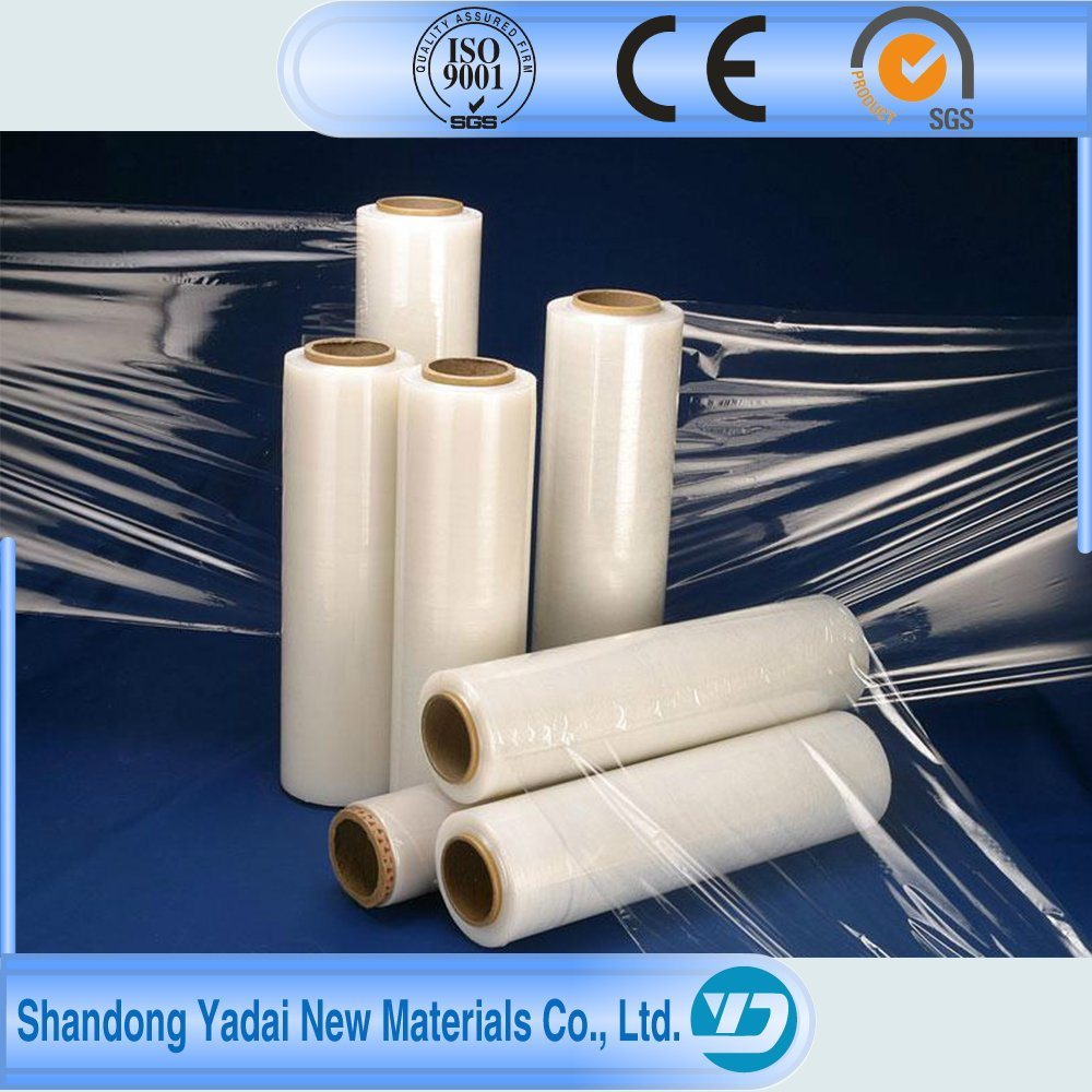 Shrink Wrap LLDPE Stretch Film PE/LDPE/LLDPE/HDPE Stretch Film Waterproofing