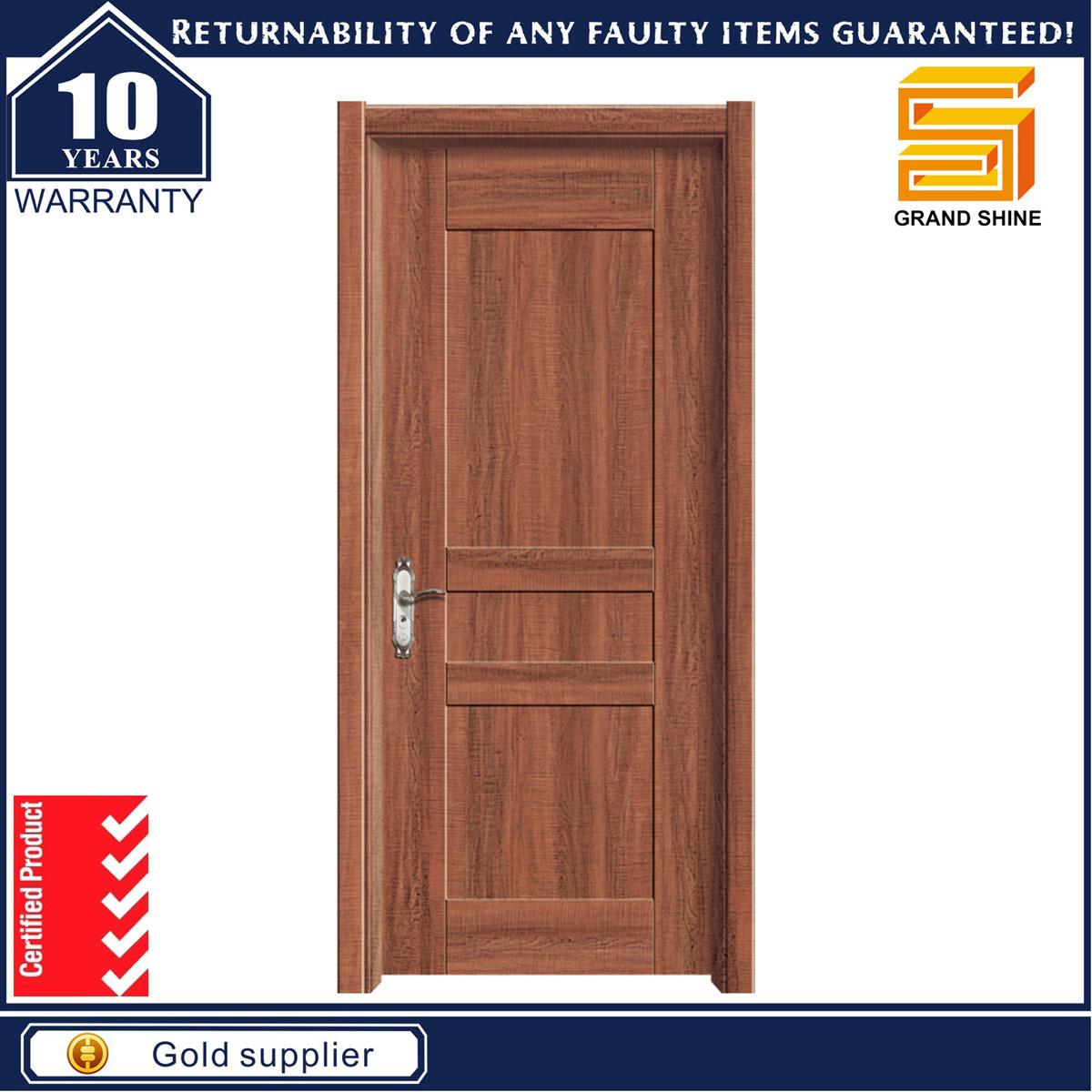 Wholesale Wooden Interior Solid Wood Exerior PVC Door