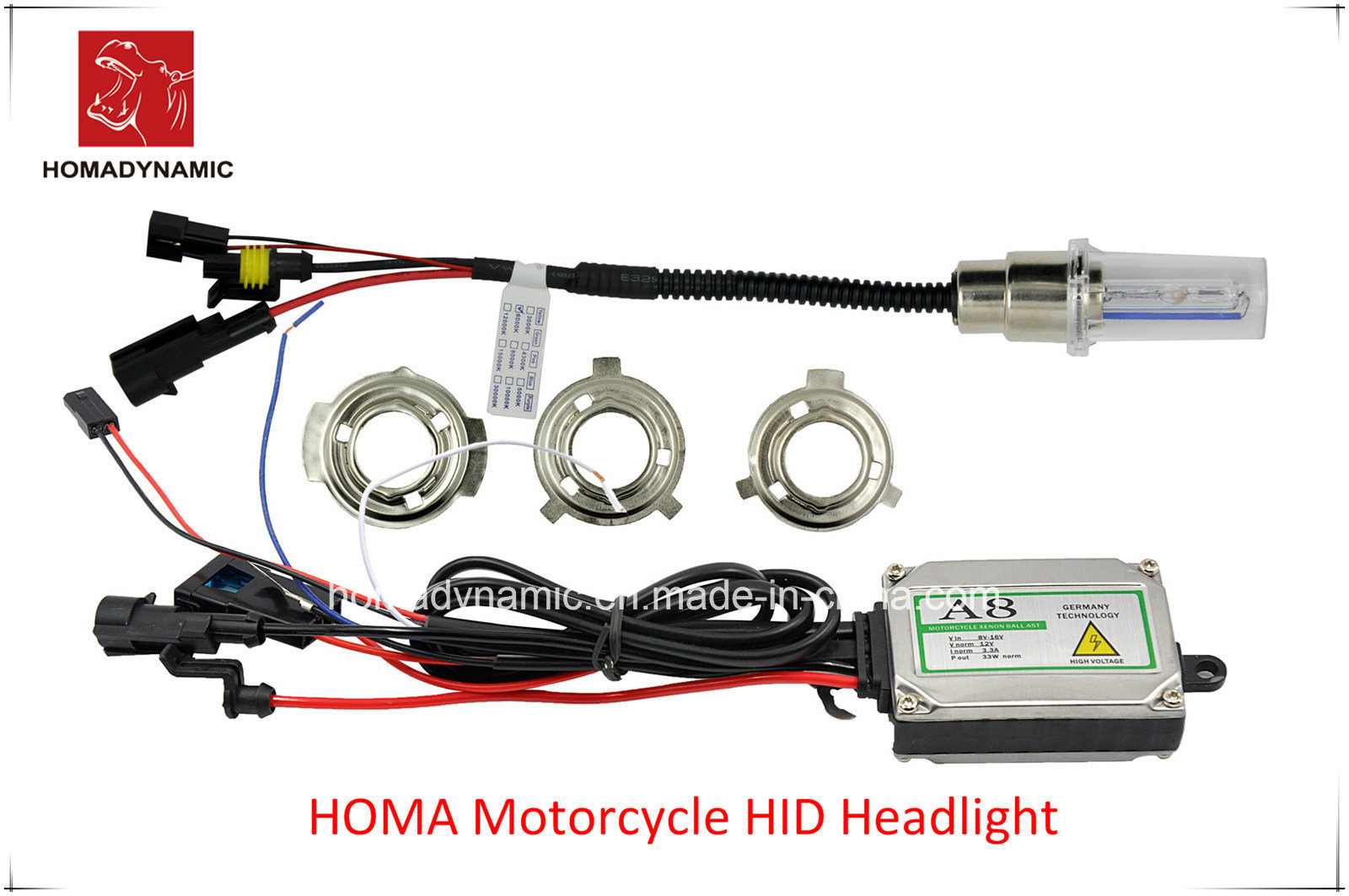 All in One HID Xenon Kit for Motorcycle