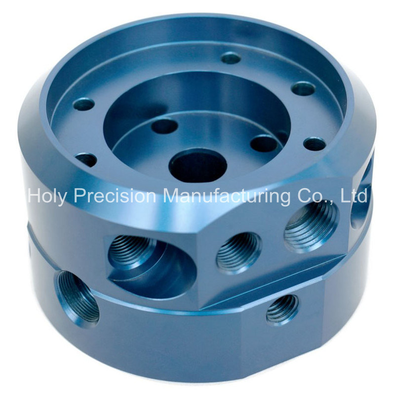 Blue Anodized CNC Macnining Parts