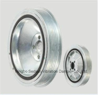 Torsional Vibration Damper / Crankshaft Pulley for Opel 55586935