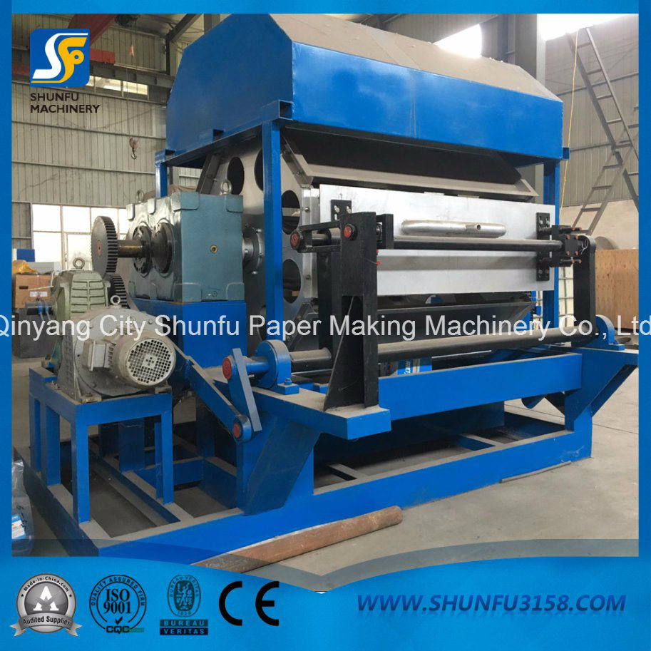 China Paper Plate Egg Fruit Carton Box Tray Form Making Machine with Factory Price - China Egg Tray Forming Machine Paper Egg Tray Forming Machine & China Paper Plate Egg Fruit Carton Box Tray Form Making Machine with ...