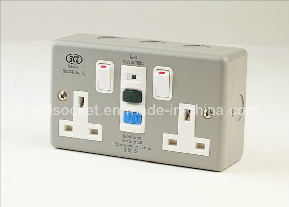 RCD Wall Switch, BS Standard