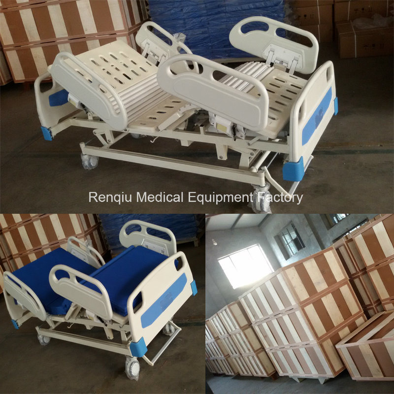 (CE, ISO) Five-Function Electric Medical Patient Bed, Hospital Bed (A1-2)