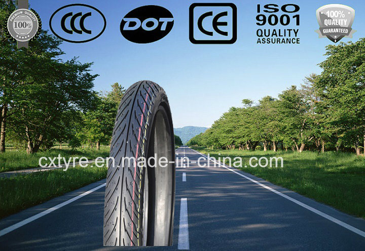 High Proformance Design Motorcycle Tyre / Motorcycle Tire (70/90-17, 80/90-17)