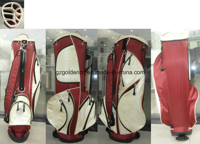 2016 Top Quality Nylon Material Golf Stand up Bags