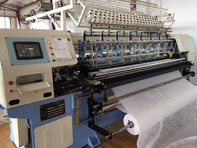 Needle Punching Non Woven Fabric Making Machine