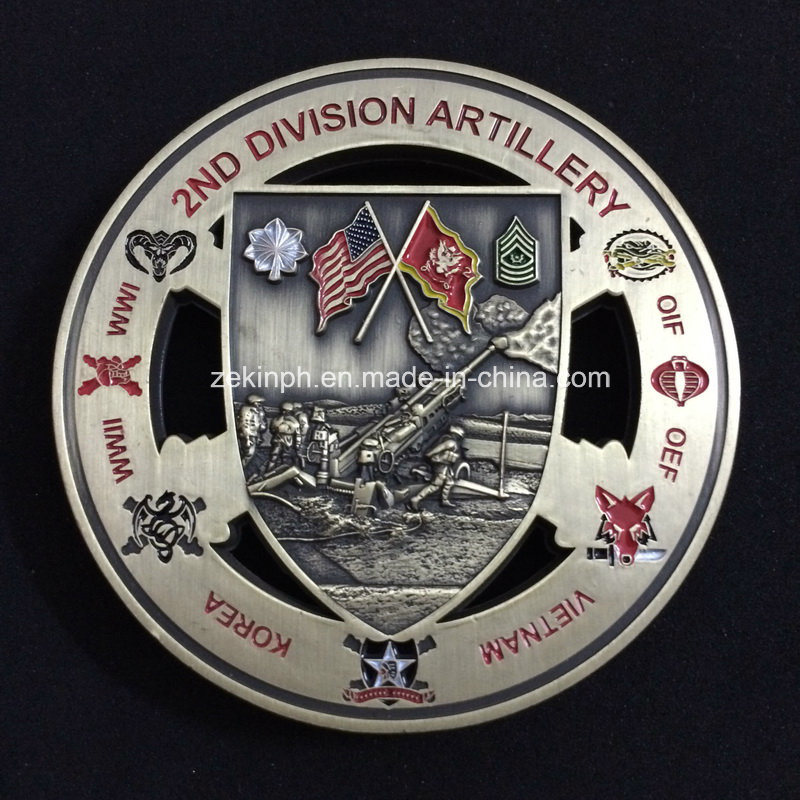 Custom Double Sides 3D Military Coins for Souvenir