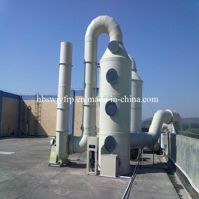 Acid Fume Scrubber System for Waste Gas Treatment