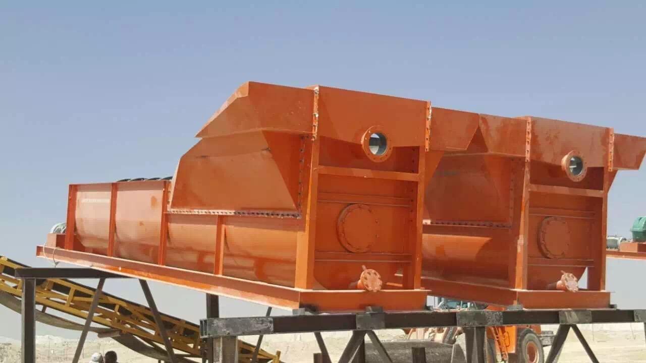 Circular Vibrating Screen for Sand Washing (1800*6000)