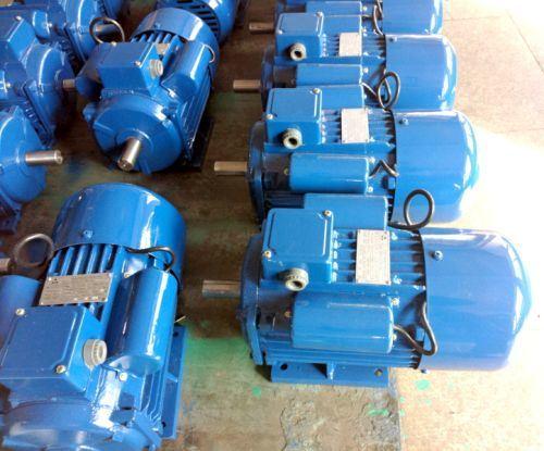 3/4 - 10HP Flange Mount Dual Capacitor Single Phase Motor