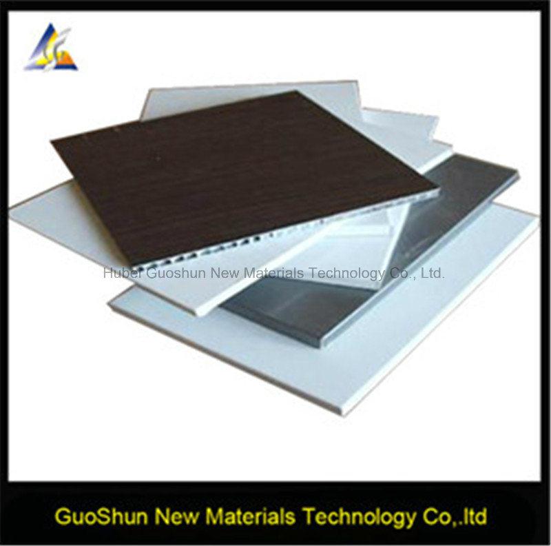 Construction Material Aluminum Honeycomb Sandwich Wall Panel