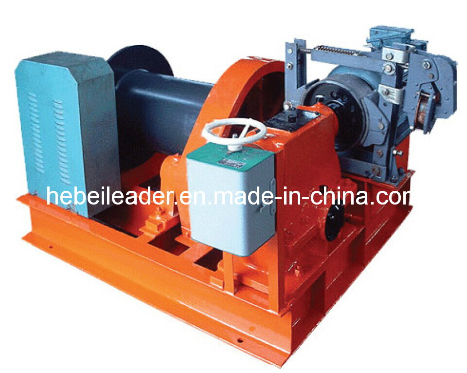 Electric Slow Speed Construction Winch