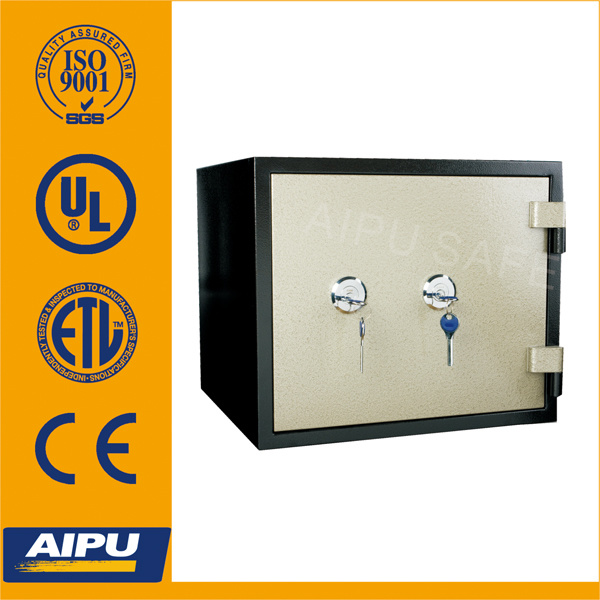 Aipu UL 1 Hour Fireproof Safes (Fjp-38-1b-Kk with Two Key Lock)