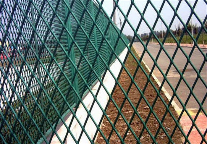Expanded Metal Mesh for Highway Road