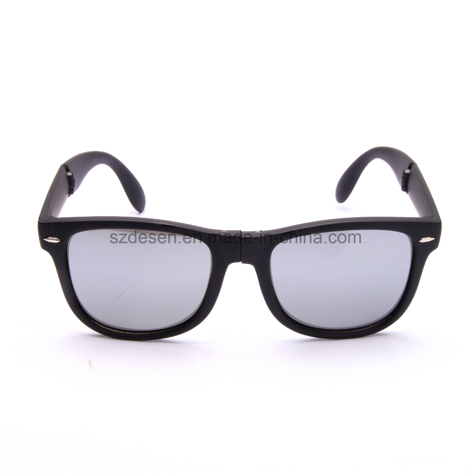 Wholesale High Quality Custom Logo Foldable PC Sunglasses