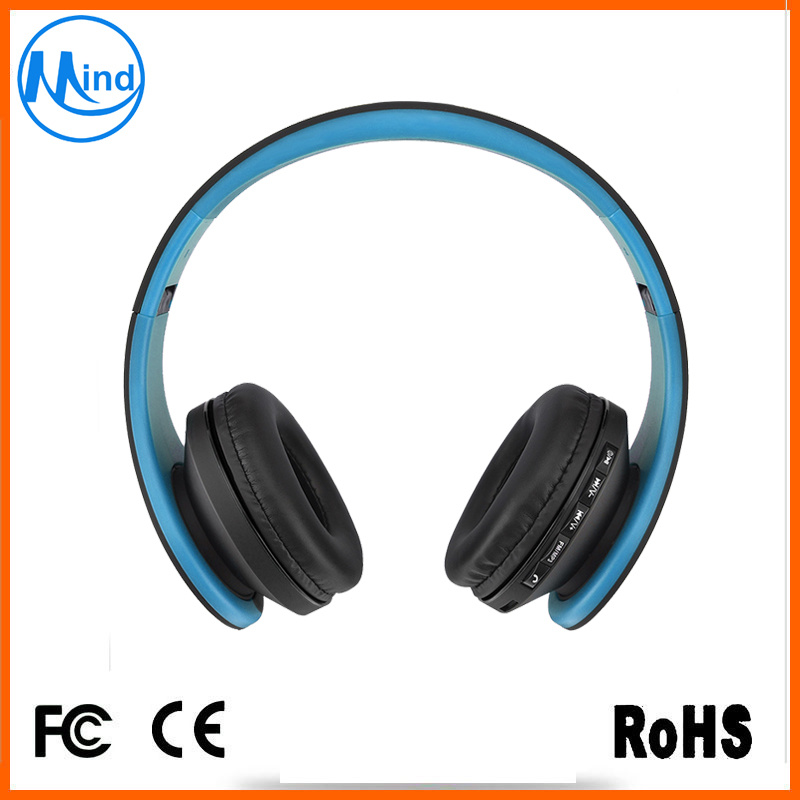 Fashion 4 in 1 Wireless Stereo Bluetooth Headphone with 130mA Battery