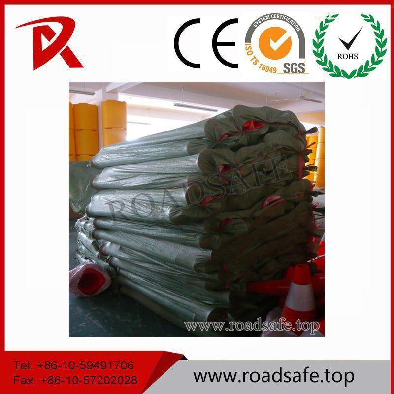 Traffic Plastic Reflective T-Top Guardrail Delineator