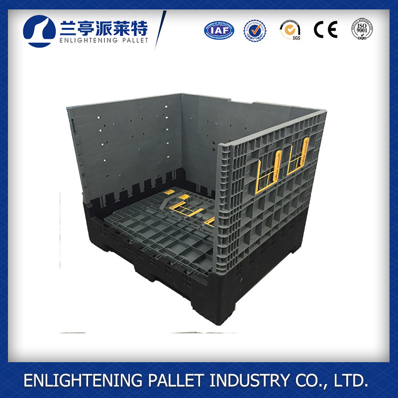 1200 X 1000X1000mm Folding Plastic Pallet Box for China