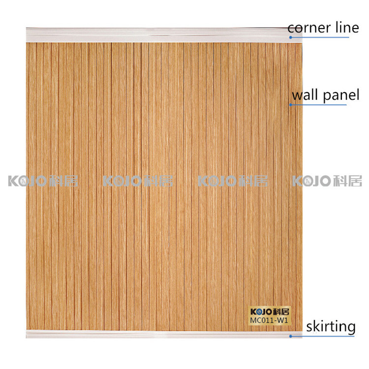 Eco-Friendly Waterproof WPC Interior Decoration Wall Panel (W1-P6)