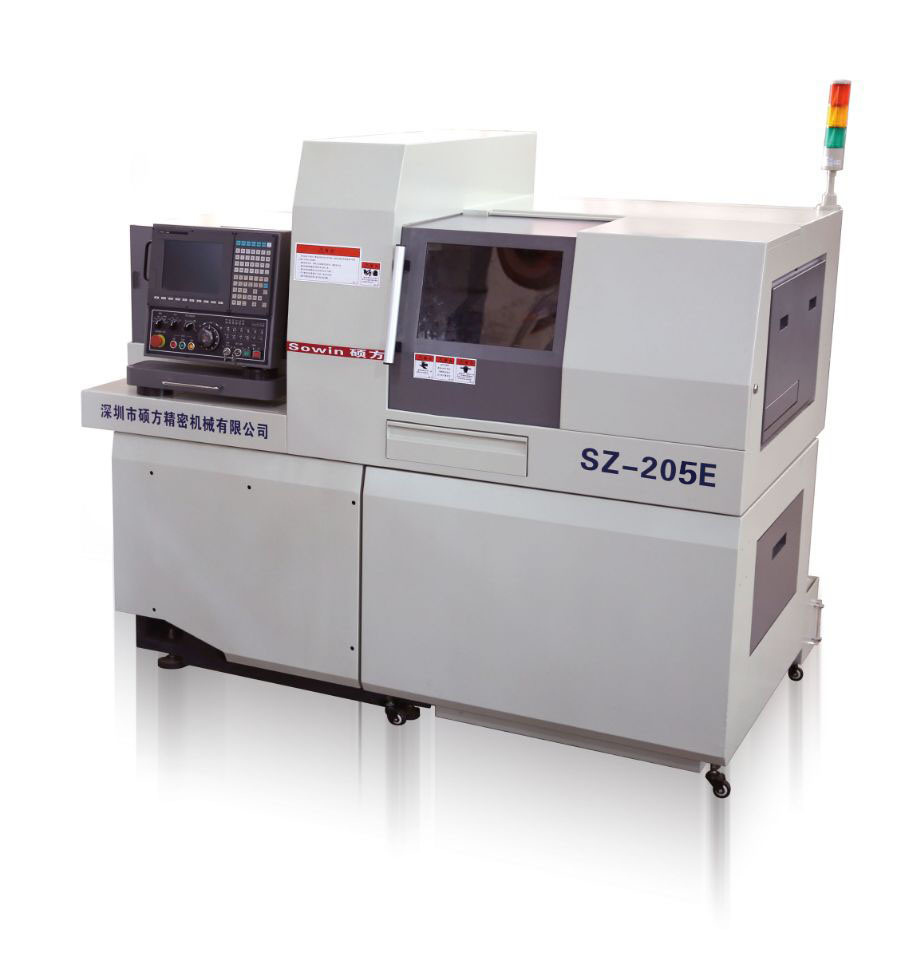 High Precision Swiss Type CNC Automatic Lathe Dual Spindles
