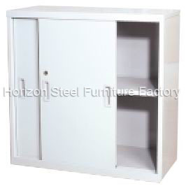 cabinet with double sliding doors hs 107b china steel cabinet