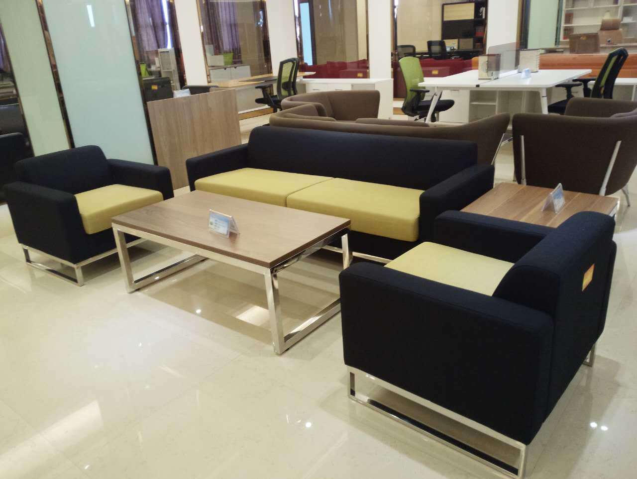 Hongye Hot Sale Modern Office Furniture Office Sofa