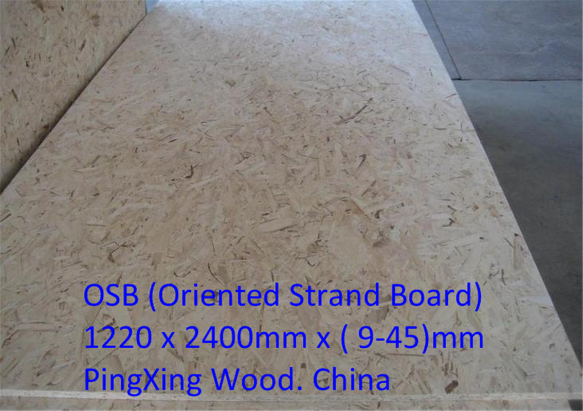 China Osb For Exterior Use Oriented Strand Board Form 9 45mm Osb China Osb Oriented Strand Board
