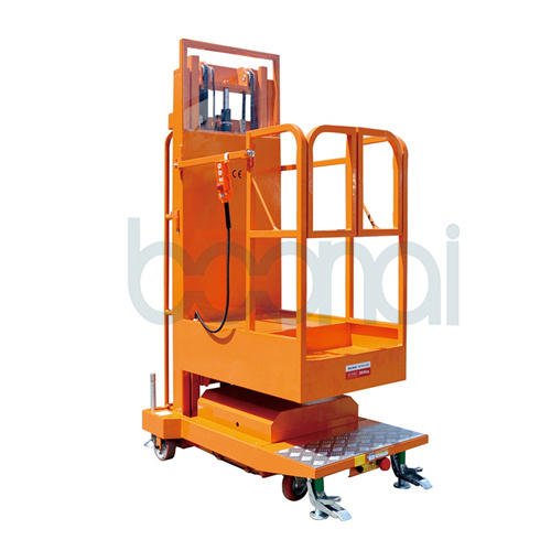Mobile Aerial Stock Picker Triple Masts for 3.5/4.0/4.5m